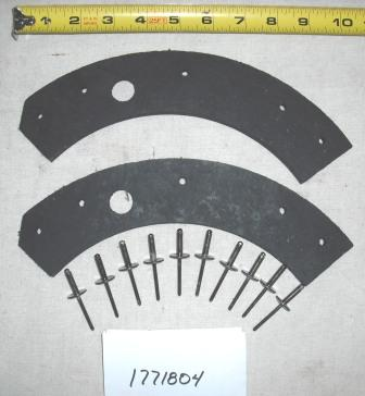 Troy Bilt Snow Thrower Auger Pad Kit Part# 1771804