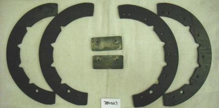 MTD Snow Blower Paddle Set Part# 931-0782A