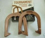 2TS Diamond Pitching Horse Shoes set of 2