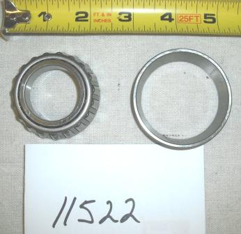 Troy Bilt Tiller Tine Bearing and Race Part# 11522