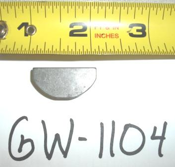Troy Bilt Tiller Tine Shaft Woodruff Key Part# GW-1104