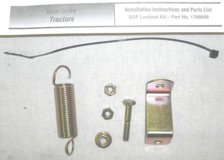 Shift on the Fly Lock Out Kit # 1768809