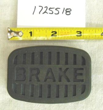 Troy Bilt Lawn Tractor Brake Pedal Pad Part# 1725518