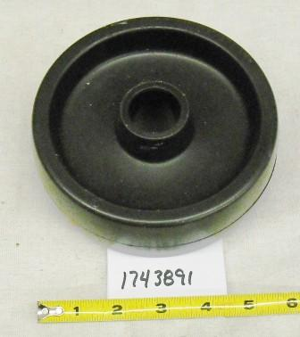 Troy Bilt Wide Cut Caster Wheel Part# 73404005
