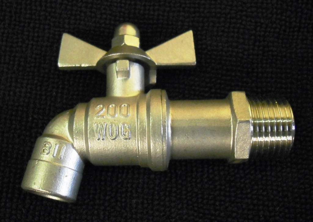 "1/2"" Stainless Steel Angle Valve"
