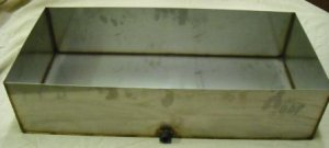 "Stainless Steel Maple Syrup Preheater Sap Pan 26"" x12"" x6"""
