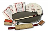 Lefse Starter Kit with Premium Non-Stick Surface Grill