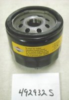 Briggs and Stratton Oil Filter Part# 492932S