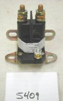Briggs and Stratton Three Terminal Solenoid Part# 5409
