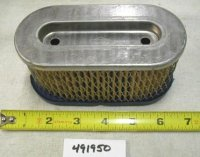 Briggs and Stratton Air Filter Part# 491950