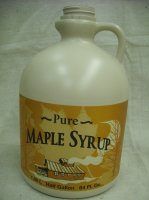 1/2 Gallon Plastic Maple Syrup Jug