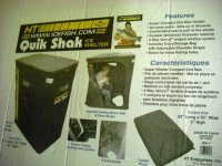 HT # 22006 QH-1 Quick Shack Ice Tent