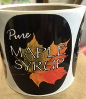 "3""x2"" 100pk Maple Leaf Labels"