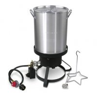 Maple Syrup Propane Fryer with 30 Qt. Aluminum Pot