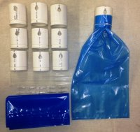 Maple Syrup PVC Starter Set - 10 Sap Sak Bags, Taps, and Holders