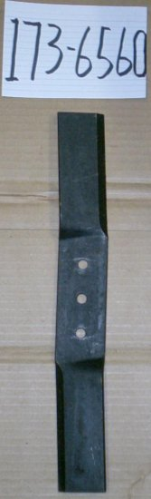 "Troy Bilt 15"" Lawn Mower Blade Kit # 1736560 - Click Image to Close"