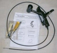 Single Speed Wheel Drive Lever & Cable Kit # 1903659