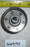 Troy Bilt Tiller Forward Idler Pulley Part# GW9193