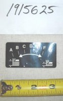 Troy Bilt Wide Cut Cutting Height Decal Part# 1915625