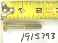 Troy Bilt Wide Cut Bolt Part# 1915793