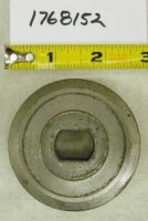 Troy Bilt Wide Cut Blade Spacer Part# 1768152