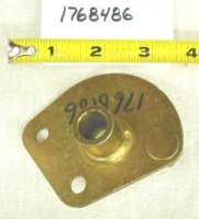Troy Bilt Wide Cut Brake Arm Pivot Part# 1768486