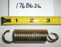 Troy Bilt Wide Cut Extension Spring Part# 1768636