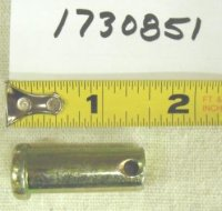 Troy Bilt Wide Cut Clevis Pin Part# 1730851