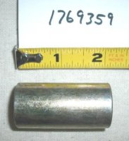 Troy Bilt Wide Cut Spacer Part# 1769359