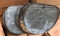 Used Flat Sap Bucket Covers